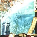 Finestra sul lago Moro