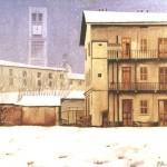Nevicata alla vecchia corte
