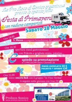 Festa di primavera 2011 - Locandina