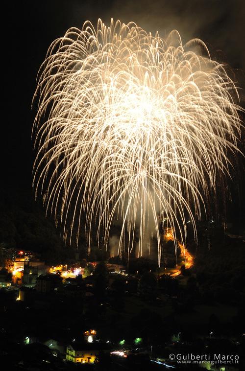 Fuochi d'artificio a S.Lorenzo
