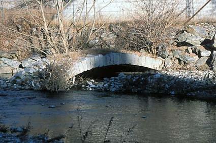 Ponte Romano lungo la Valeriana a Sonico