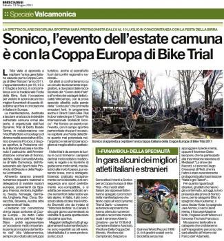 11 Giugno 2011 - BresciaOggi - Speciale Vallecamonica