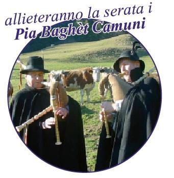 Pià Baghet Camuni  alla caminada de not a Sonico