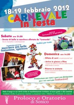 Carnevale in Festa 2012