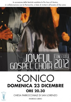 Joyful Gospel Choir - Concerto Natalizio Gospel