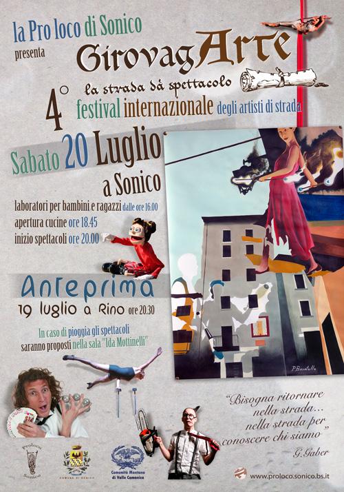 Poster Girovagarte 2013