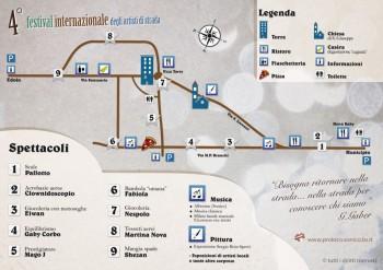 Cartina spettacoli