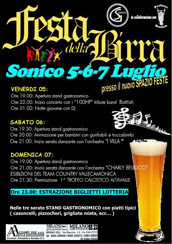 Festa della Birra Sonico