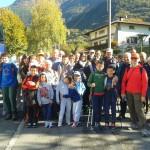 11 ottobre 2015 - visita del Gruppo Pensionati Escursionisti del Cai di Brescia al Coren delle Fate e alla sede della Protezione civile di Sonico