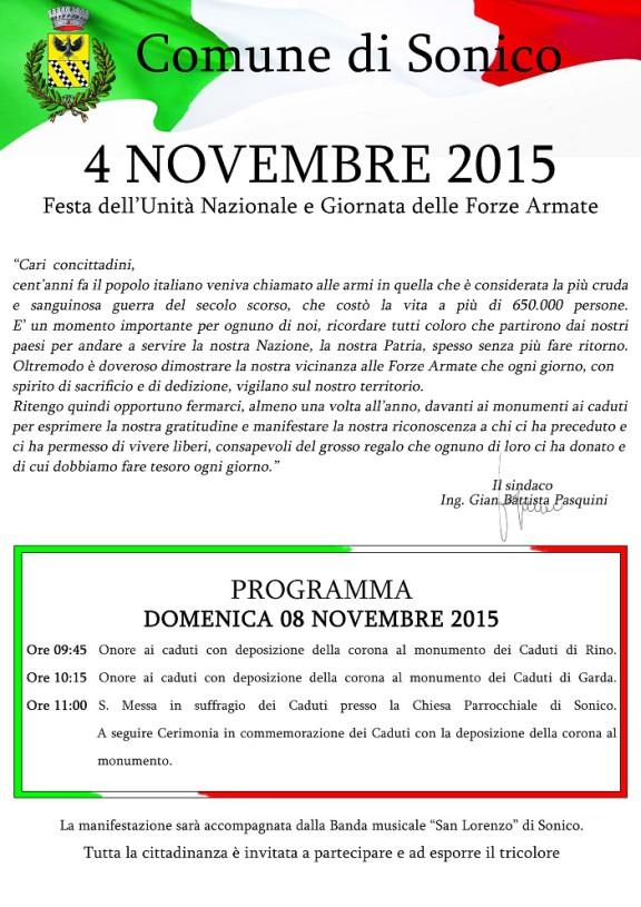 Locandina 4 novembre
