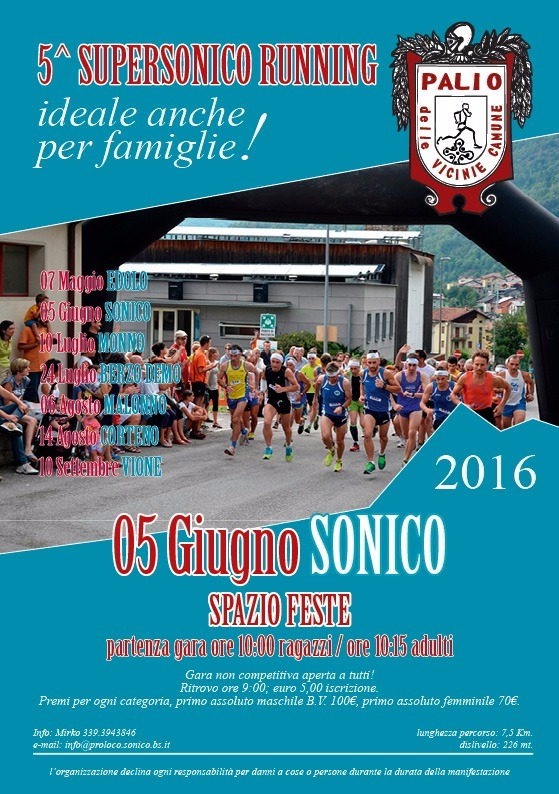 5° SuperSonico Running
