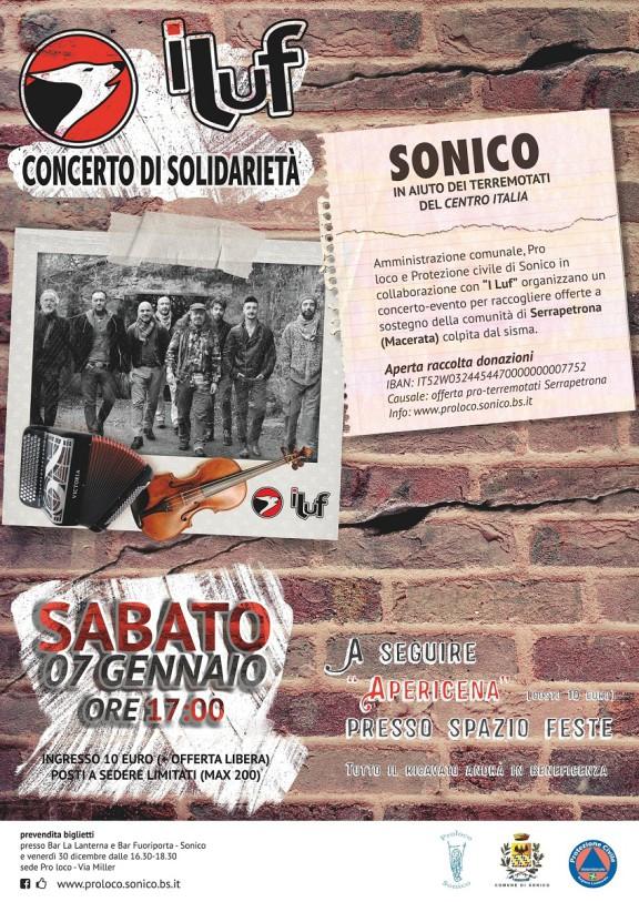 "Concerto de ""I LUF"" – Pro terremotati"
