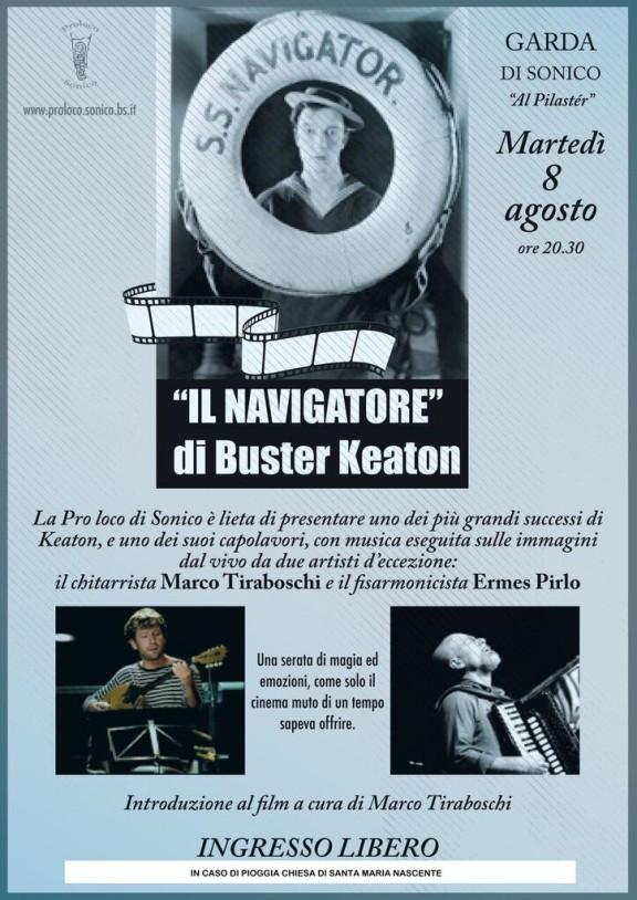 """""""Il Navigatore"""" di Buster Keaton"""
