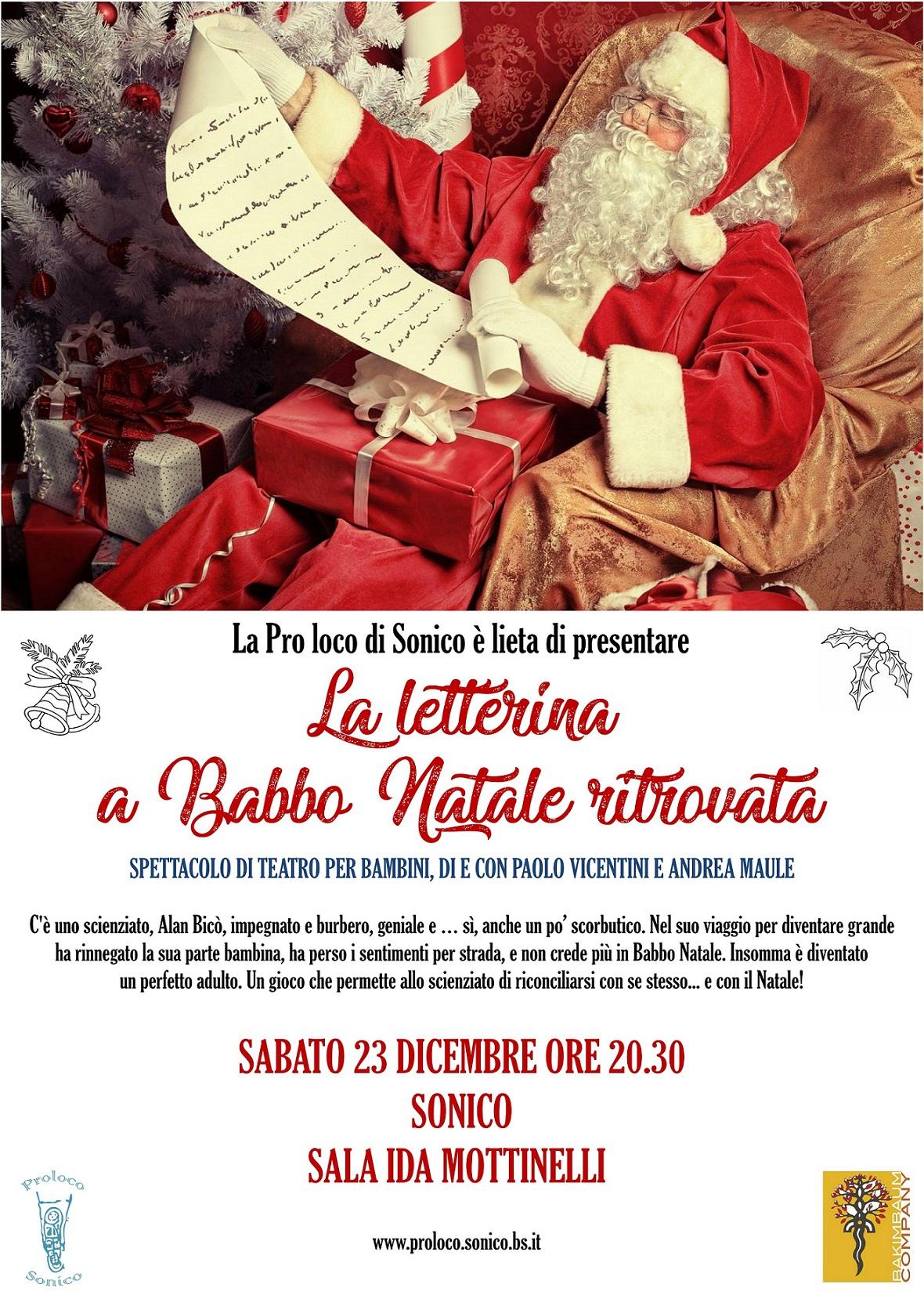 """""""La letterina a Babbo Natale ritrovata"""""""