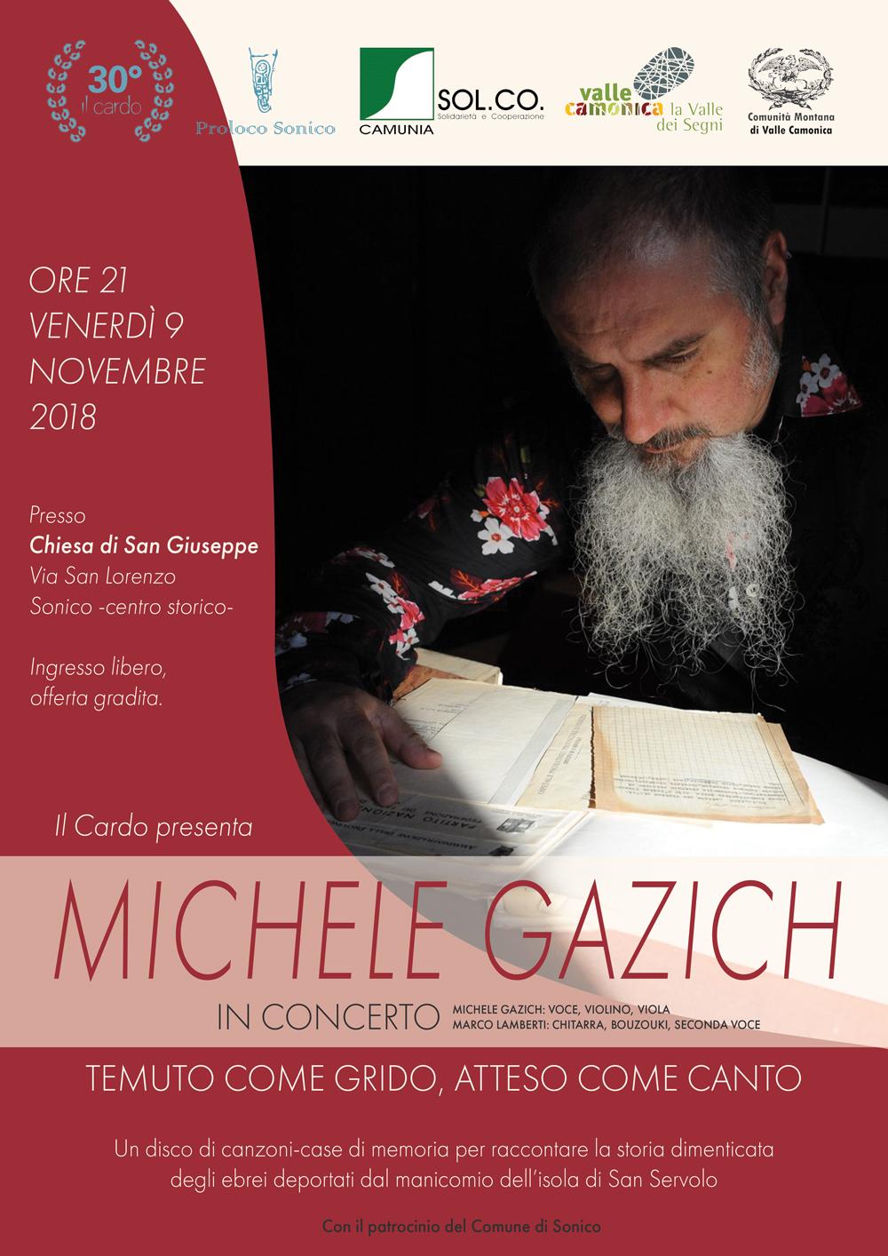 Michele Gazich in concerto